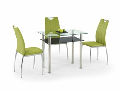 Стеклянный стол Halmar Lester 90