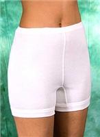 8268. Панталоны женские удлиненные.  Состав сырья: Хлопок. Размеры: 104 - 124. Расцветка:  белый, черный, шампанское.