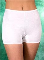 8718. Панталоны женские удлиненные.  Состав сырья: Хлопок. Размеры: 96 - 120. Расцветка: белый, черный.