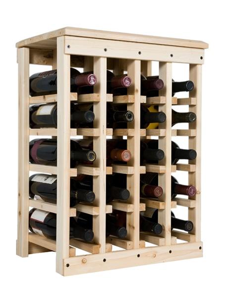 Стеллаж под бутылки вина