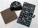 Комплект Louis Vuitton (черный с белым)