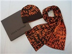 Комплект Louis Vuitton (коричневый с оранжевым)
