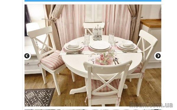 Икеа столы и стулья в интерьере фото