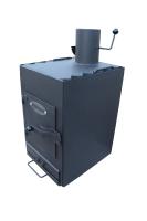 Двухкамерная печь Теплун (Жар.Ко) Уют с варочной поверхностью
