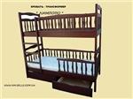 """Двухърусная кровать """"Лимпопо-Люкс"""""""