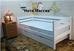 """Одноярусная кровать """"Нота Массив"""""""