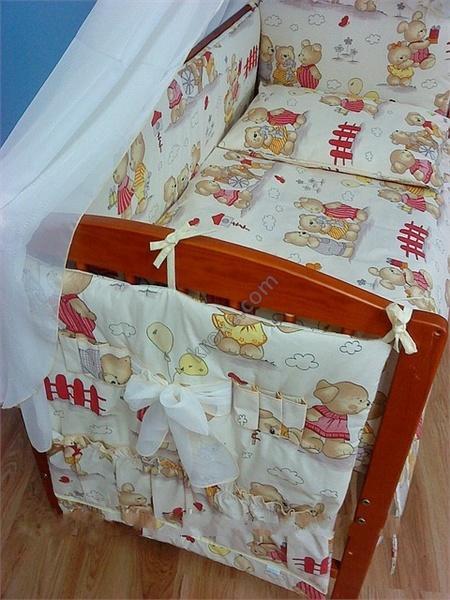 Сшить детское постельное белье в кроватку для новорожденных 539