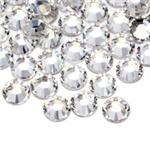 Стразы клеевые серебро 2мм 50шт