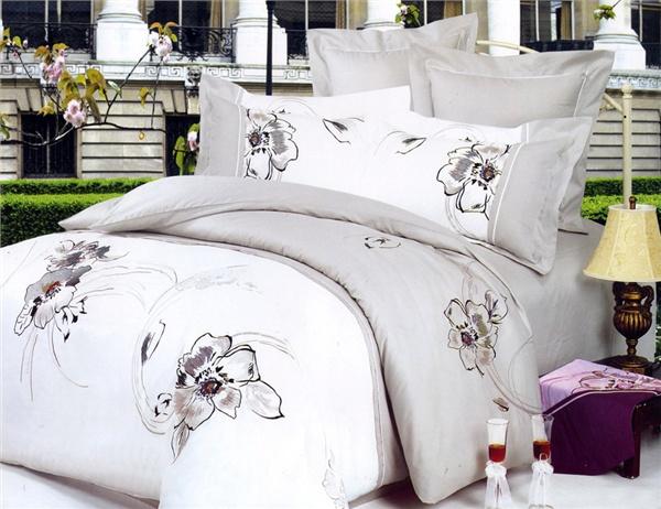 Купить постельное белье la scala семейное cатин супер люкс с шёлковой вышивкой xs-202 в интернет магазине hlopok киев