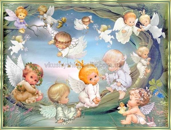 обои на рабочий стол ангелочки дети № 114838  скачать