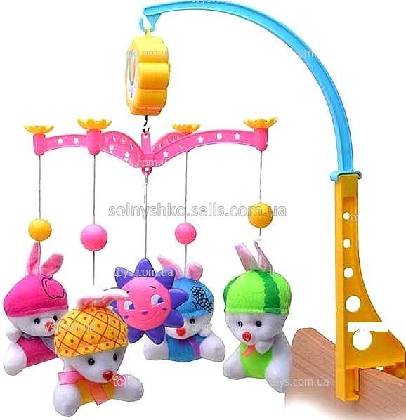 Игрушки на кроватку карусель