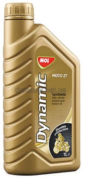 Синтетическое моторное масло для 2-х тактных двигателей MOL Dynamic Moto 2T 1л
