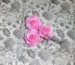 Голова розы из латекса 4,5 см