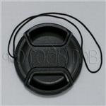 Крышка для объектива 58 мм со шнурком