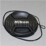 Крышка для объектива Nikon 72 мм (аналог со шнурком)