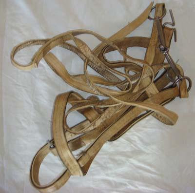 Изготовление сбруи для лошадей своими руками