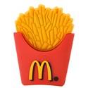 2GB Rubber McDonald Fries Design USB Flash Drive Flash Memory U Disk