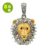 Роскошная флешка 8GB в виде золотого льва