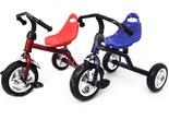 Велосипед трехколесный QAT-T001 cиний и красный
