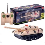 Р/У Танк боевой со звуком, в коробке 25х8х10