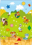 Развивающий коврик Babypol Домашние животные
