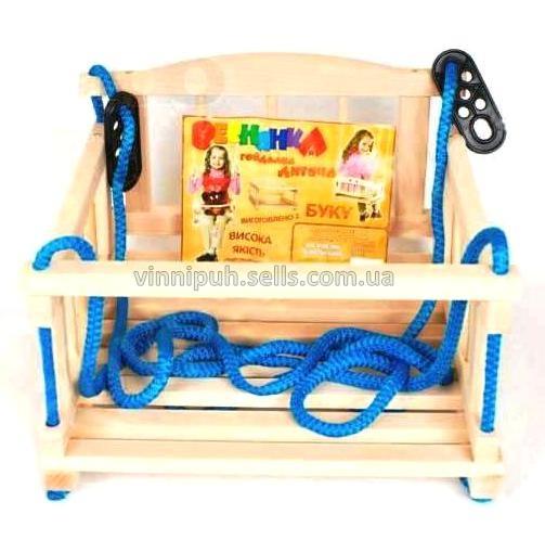 Детская качель буковая: цена, описание, продажа - Интернет магазин детских товаров и игрушек ''Винни Пух