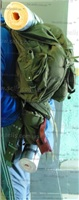 Австрийский рюкзак + ремень + малый рюкзак .Железная фурнитура