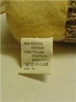 Размер перчаток указан - XL (10) , но подходит от 9 до 11 . Таблица размеров указана на фото с лотом. Очень теплые и плотные ,шерстяные + утеплитель Thinsulate .