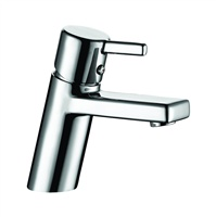Water faucets for bathrooms and kitchens.