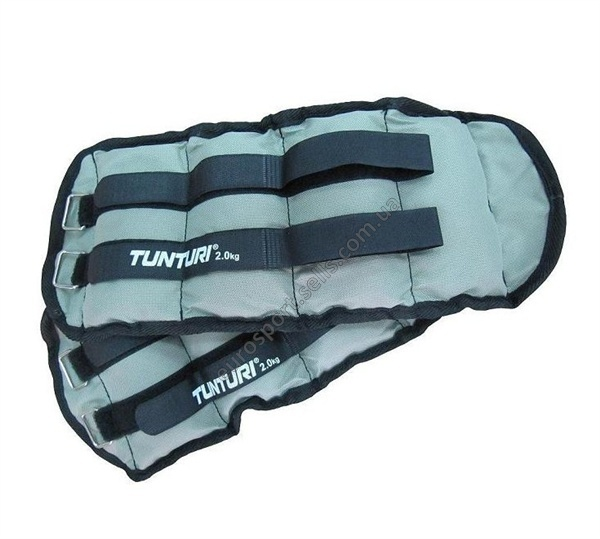 Утяжелители 2 кг Tunturi Arm/Leg Weights 14TUSFU107