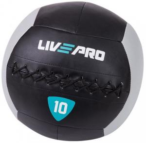 Мяч для кроссфита 10 кг LivePro Wall Ball LP8100-10