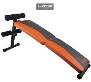 Раскладная скамья для пресса LiveUp Fitness Sit-Up Bench LS1209