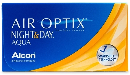 Air Optix Night&Day Aqua (3 + 3 шт)