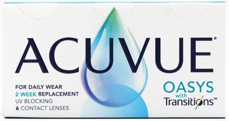 Линзы ACUVUE OASYS with Transitions (6 + 6 шт)