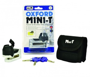 Замок на диск Oxford mini T Lock Disc