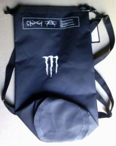 Мото баул рюкзак 2В1 MONSTER ENERGY 12L