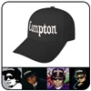 Compton gangsta baseball cap   black