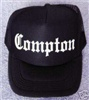 Black Trucker Cap Compton