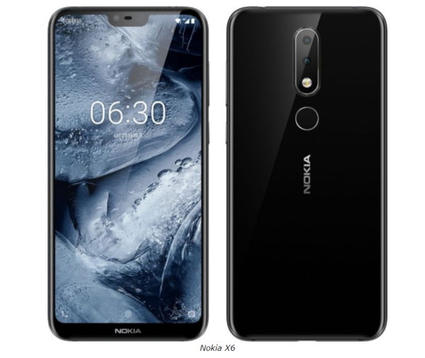 Nokia X6 (Nokia 6.1 Plus) 4Gb RAM 64Gb ROM Global
