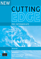 Pre-Intermediate New Cutting Edge Work Book 3 издание