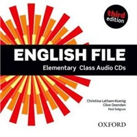 English File Elementary  3rd edition Class Audio CDs (4)