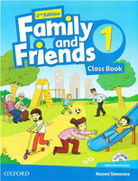 Family & Friends 1  Class Book and MultiROM Pack