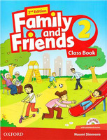 Family & Friends 2  Class Book and MultiROM Pack