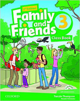 Family & Friends 3  Class Book and MultiROM Pack