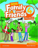 Family & Friends 4 Class Book and MultiROM Pack