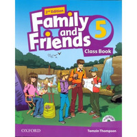 Family & Friends 5  Class Book and MultiROM Pack
