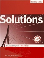 Solutions Pre-Intermediate: Workbook Ukrainian Edition