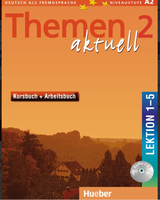 Themen AKTUELL 2 Курс Книга и тетрадь с Audio CD - Урок 1-5