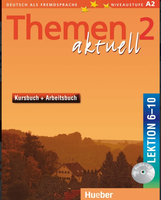 Themen AKTUELL 2 Курс Книга и тетрадь с  Audio CD - Урок 6-10