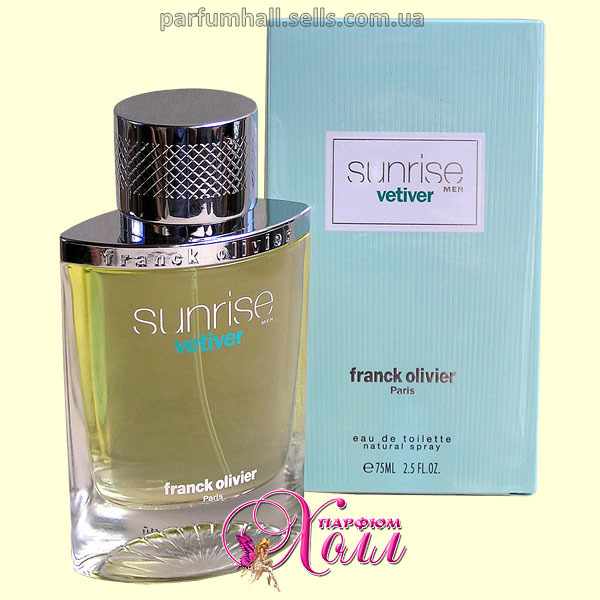 Sunrise Vetiver Men Franck Olivier 75ml eau de toilette туалетная вода для мужчин